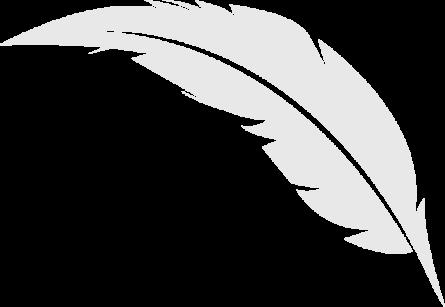 pluma-gris